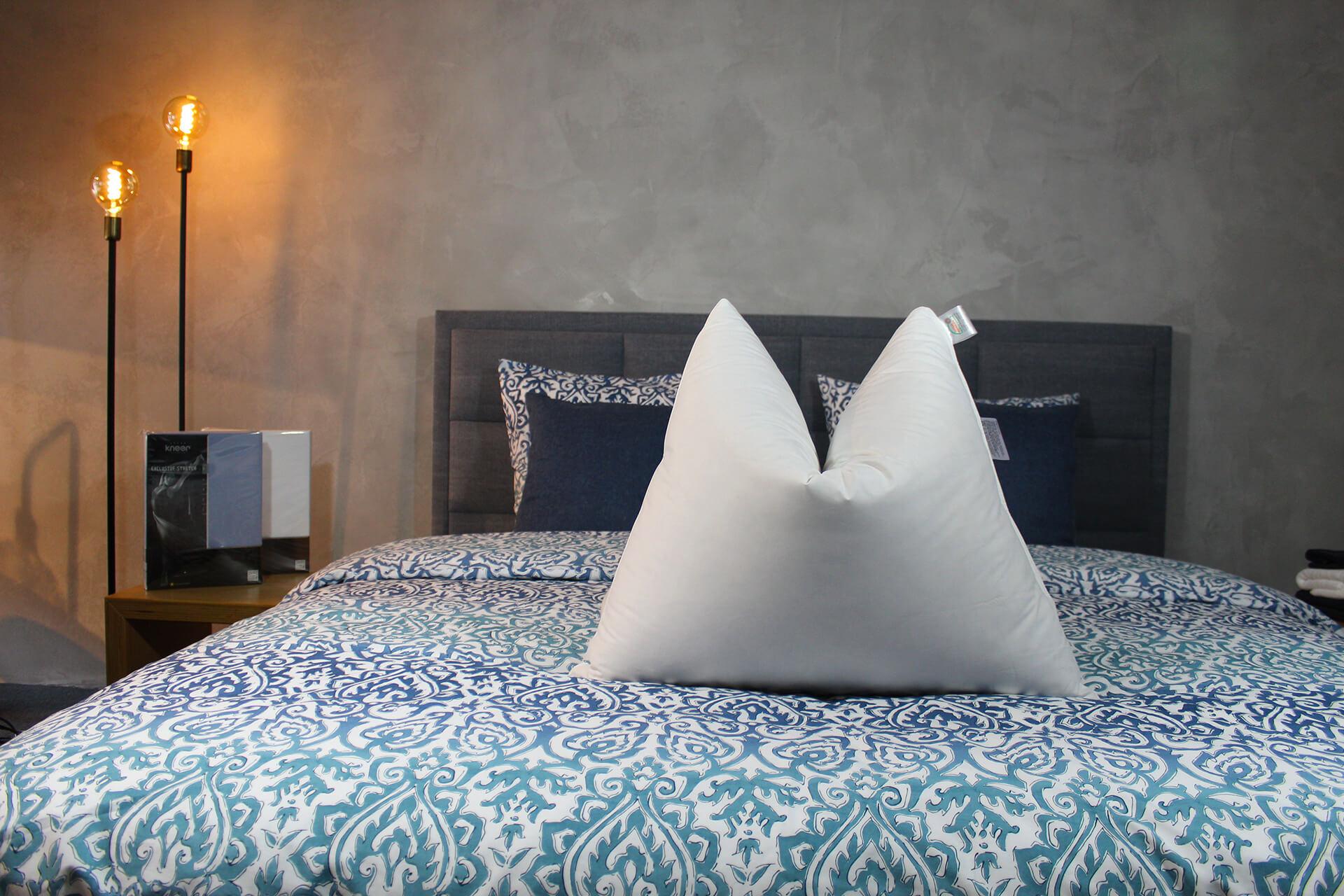 Donzen kussen met 90% Ganzendons   Luxe Nuvaro Goose Comfort Hoofdkussen