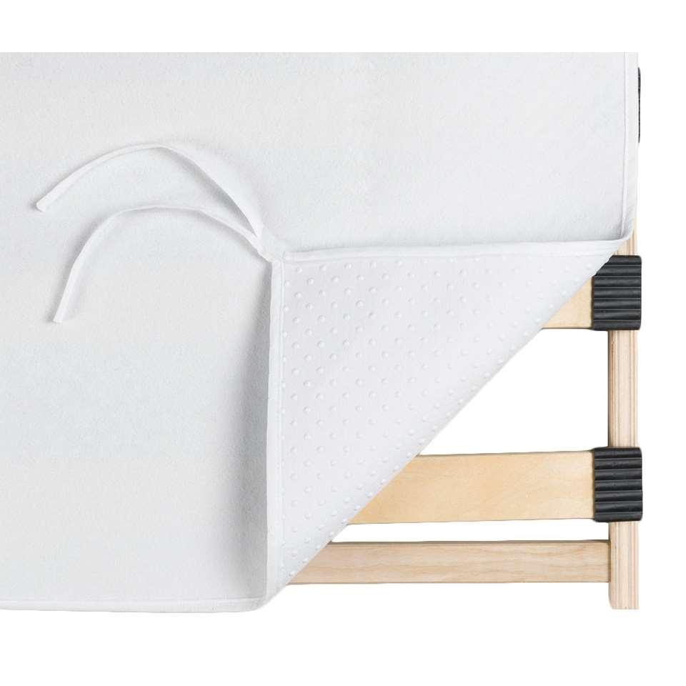 Ondermatrasbeschermer noppen - 80x200 cm - Leen Bakker