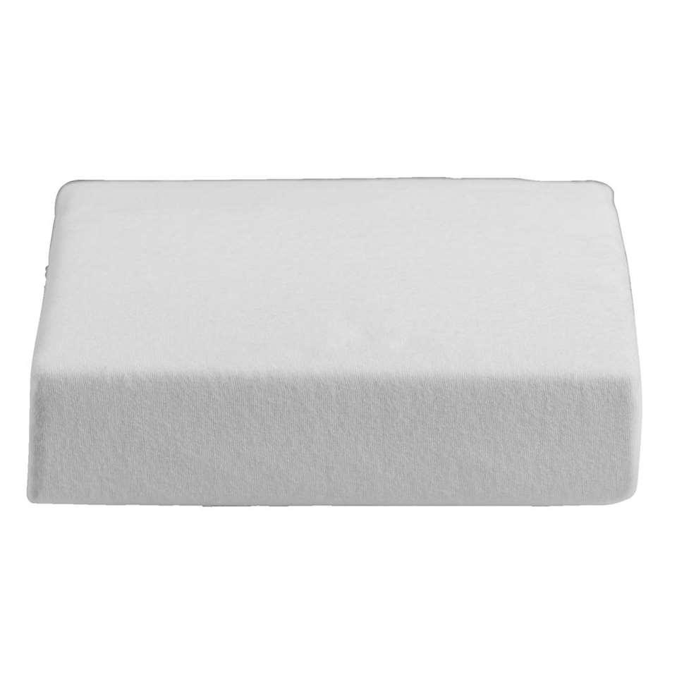 Waterdichte matrasbeschermer molton - wit - 70x150 cm - Leen Bakker