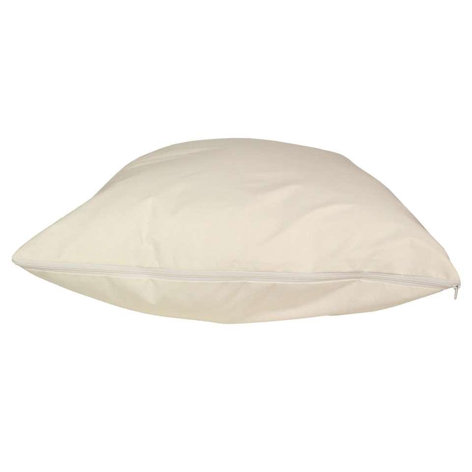 Polydaun dekbedhoes Evolon anti allergie - crème - 140x200 cm - Leen Bakker
