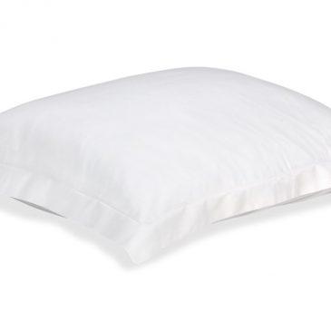 Hoofdkussensloop Perkal (2 Stuks) – 70 x 60 cm – off-white